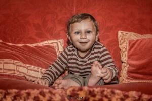 Il battesimo del piccolo Cesare